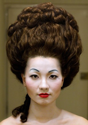 18th Century hair and makeup