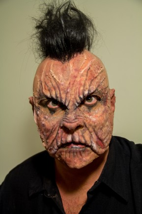 Prosthetic monster makeup
