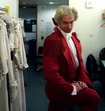 Wig styling, Royal Opera House